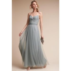 BHLDN Tinsley Dress in French Blue